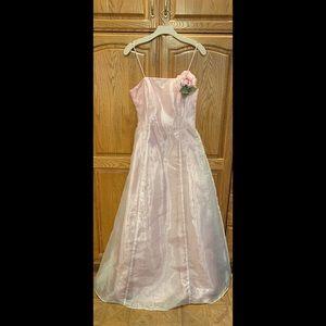 Beautiful Roberta Pink Formal Gown Prom Bridesmaid